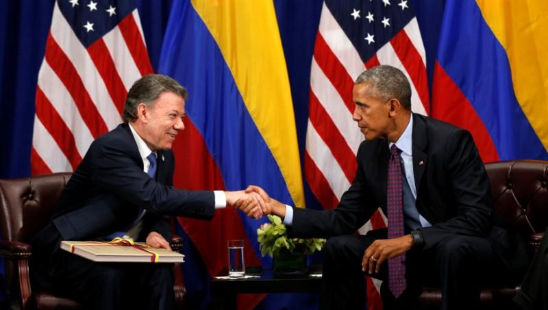 Obama welcomes Colombia peace deal as an historic achievement