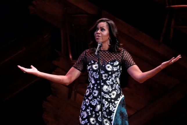 U.S. First Lady Michelle Obama hosts Broadway Shines A Light on Girls