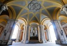 Interior do palácio de Caserta, Itália.      20/09/2016            REUTERS/Ciro De Luca