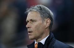 Marco van Basten durante jogo da Holanda contra a Inglaterra.  29/3/16.  Action Images via Reuters / Carl Recine