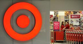 Employees work at a Target store at St. Albert, Alberta, January 15, 2015. REUTERS/Dan Riedlhuber/Files