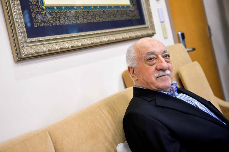 FILE PHOTO --  U.S. based cleric Fethullah Gulen at his home in Saylorsburg, Pennsylvania, U.S. July 29, 2016.  REUTERS/Charles Mostoller/File Photo