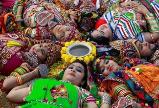 Preparing for Durga Puja and Navratri