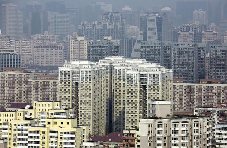 2015年1月20日,北京的住宅楼。REUTERS/Jason Lee