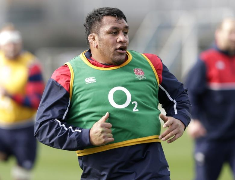 Rugby Union - England Training - Latymer Upper School Playing Fields - 17/2/16Mako Vunipola of England during trainingAction Images via Reuters / Henry BrowneLivepic