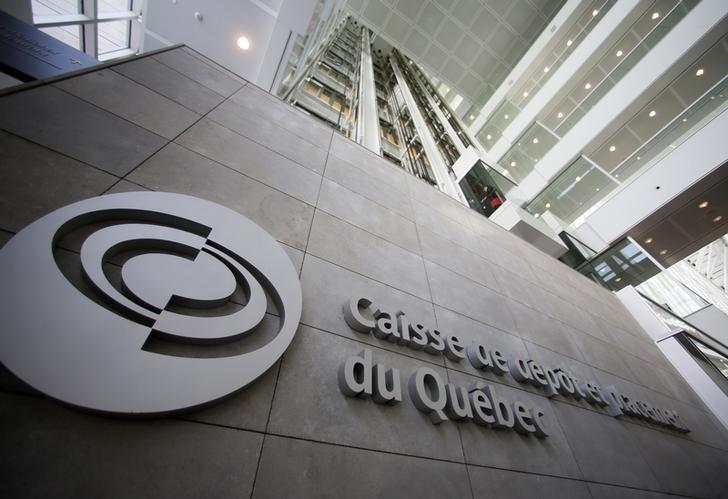 The Caisse de depot et placement du Quebec (CDP) building is seen in Montreal, February 26, 2014. REUTERS/Christinne Muschi/Files