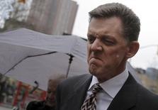 Scott Tucker exits the Manhattan Federal Court in New York February 23, 2016. REUTERS/Brendan McDermid
