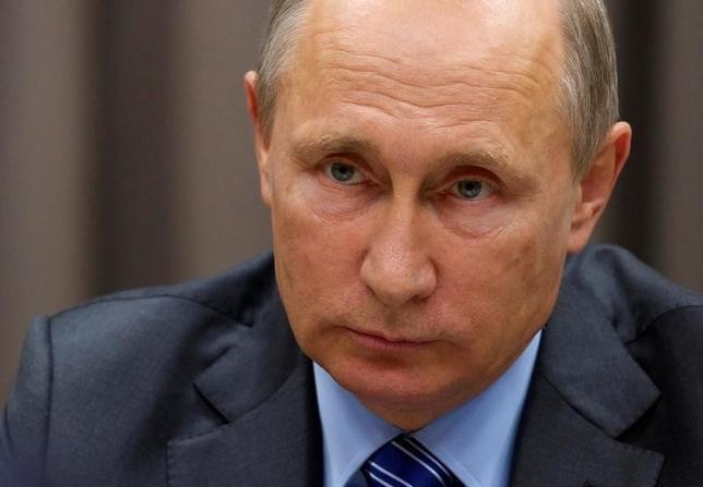10月3日、ロシアのプーチン大統領は、米国との間で2000年に結んだ余剰な兵器級プルトニウムの廃棄に関する協定を停止する大統領令を発表した。モスクワ郊外で9月代表撮影(2016年 ロイター)