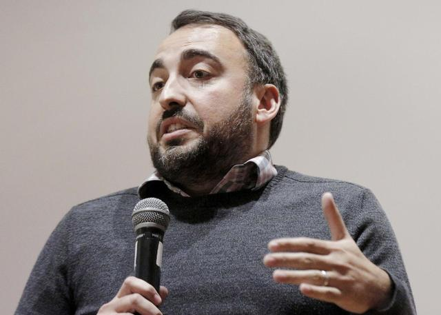 Alex Stamos, Chief Security Officer for Facebook, speaks at the NYU Center for Cyber Security in Brooklyn, New York New York March 7, 2016. REUTERS/Brendan McDermid/File Photo
