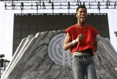 Kid Cudi performs at the Coachella Valley Music and Arts Festival in Indio, California April 12, 2014. REUTERS/Mario Anzuoni