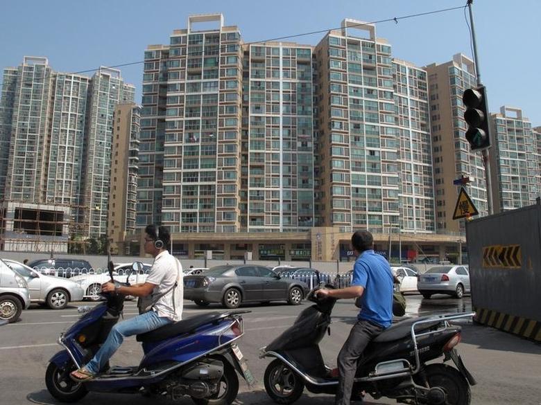 2016年9月24日,湖南长沙市的一处住宅区。September 24, 2016. REUTERS/Yawen Chen