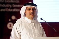 Saudi Aramco apunta a 2018 para la que podría ser la mayor salida a bolsa del mundo ya que espera que el precio del petróleo y las condiciones del mercado mejoren en los próximos años, dijo el martes su consejero delegado, Amin Nasser. En la imagen, Nasser en una conferencia en Manama el 26 de septiembre de 2016. REUTERS/Hamad I Mohammed