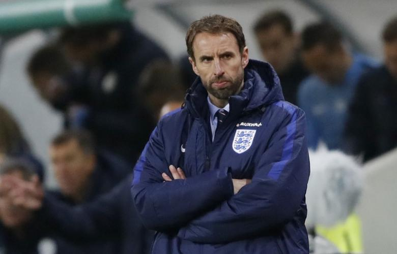 Football Soccer - Slovenia v England - 2018 World Cup Qualifying European Zone - Group F - Stadion Stozice, Ljubljana, Slovenia - 11/10/16England interim manager Gareth Southgate Action Images via Reuters / Carl RecineLivepic
