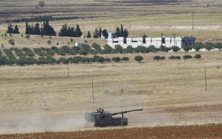 Turkish army says Islamic State putting up 'stiff resistance' in Syria