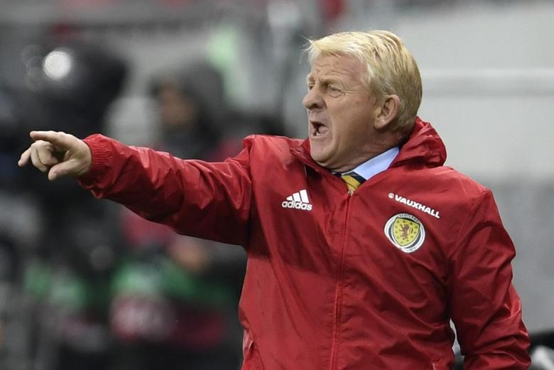 Football Soccer - Slovakia v Scotland - 2018 World Cup Qualifying European Zone - Group F - City Arena, Trnava, Slovakia - 11/10/16Scotland manager Gordon Strachan Reuters / Radovan StoklasaLivepic