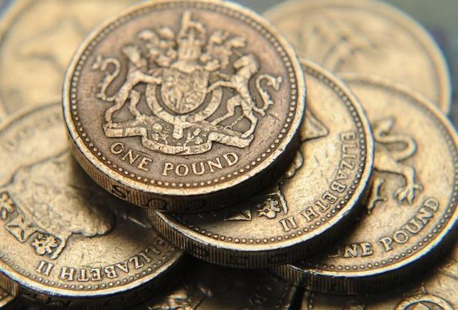 10月12日、外為市場で英ポンドが5取引日ぶりに反発した。写真は2005年9月撮影(2016年 ロイター/Toby Melville)
