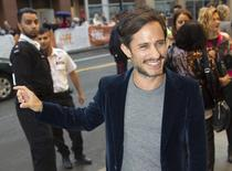 "Actor Gael Garcia Bernel arrives for the premiere of the movie ""Desierto"" at TIFF the Toronto International Film Festival in Toronto, September 13, 2015. REUTERS/Fred Thornhill"