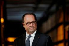Presidente francês, François Hollande.    10/10/2016         REUTERS/Yoan Valat/Pool