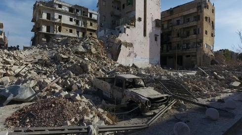 Devastation in Aleppo