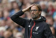 Britain Soccer Football - Swansea City v Liverpool - Premier League - Liberty Stadium - 1/10/16 Liverpool manager Juergen Klopp  Action Images via Reuters / John Sibley Livepic