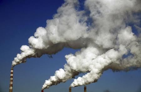 Photoدخان محطة للطاقة في الصين - ارشيف رويترز