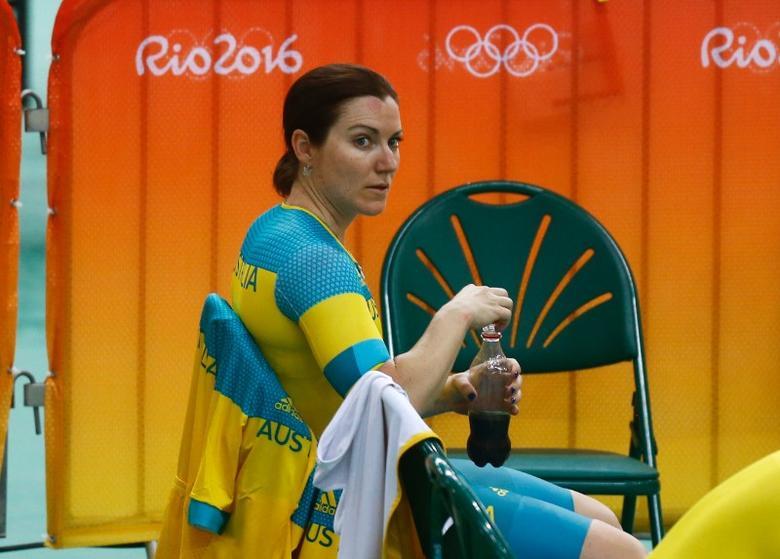 Rio Olympics - Olympic Park - Rio de Janeiro, Brazil - 31/07/2016. Anna Mears from Australia prepares to train.         REUTERS/Pilar Olivares
