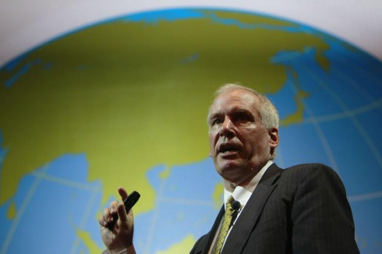 Boston Fed President Eric Rosengren speaks during the Sasin Bangkok Forum in this July 9, 2012 file photo. REUTERS/Sukree Sukplang