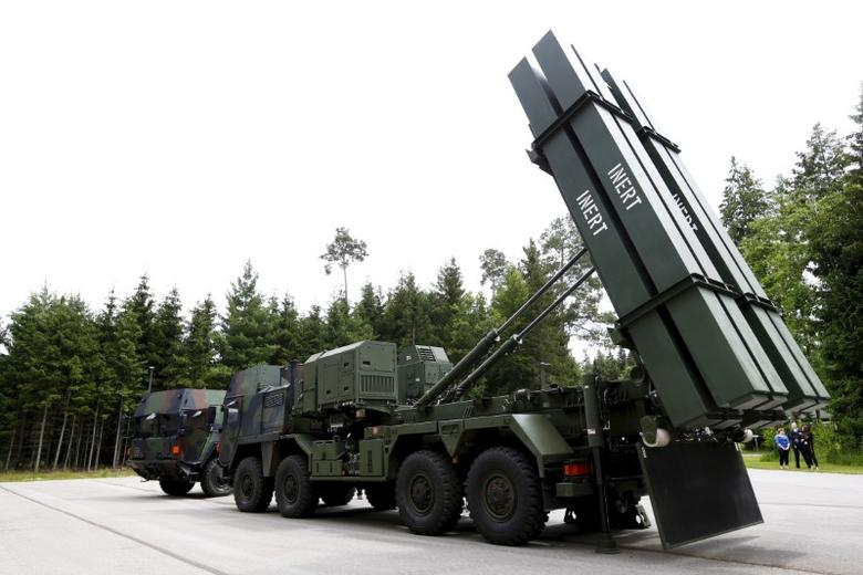 The Medium Extended Air Defense System (MEADS) is pictured during a presentation at European Defense Group MBDA in Schrobenhausen, near Ingolstadt, Germany, June 25, 2015. REUTERS/Michaela Rehle