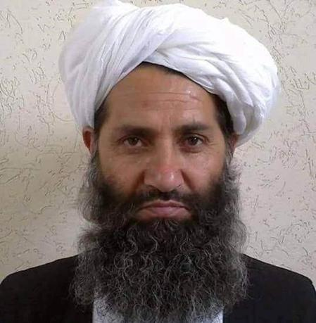 Taliban new leader Mullah Haibatullah Akhundzada is seen in an undated photograph, posted on a Taliban twitter feed on May 25, 2016, and identified separately by several Taliban officials, who declined be named.  Social Media via Reuters/File Photo