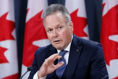 Bank of Canada Governor Stephen Poloz speaks during a news conference in Ottawa, Ontario, Canada on October 19, 2016. REUTERS/Chris Wattie/File Photo
