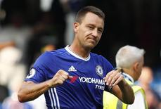 Football Soccer Britain - Chelsea v Burnley - Premier League - Stamford Bridge - 27/8/16 Chelsea's John Terry celebrates at full time Reuters / Eddie Keogh Livepic