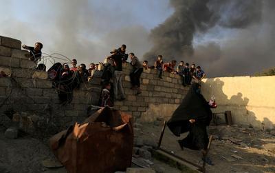 Refugee exodus from Mosul