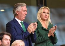 FAI Chief Executive John Delaney in the stands Reuters / Clodagh Kilcoyne