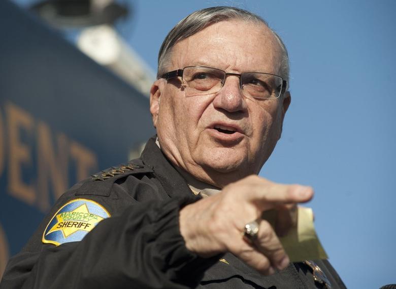Maricopa County Sheriff Joe Arpaio <a href=