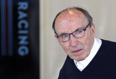 Williams Formula One team founder Frank Williams looks on during the first practice session for the British Grand Prix at the Silverstone Race circuit, central England, July 4, 2014.   REUTERS/Francois Lenoir