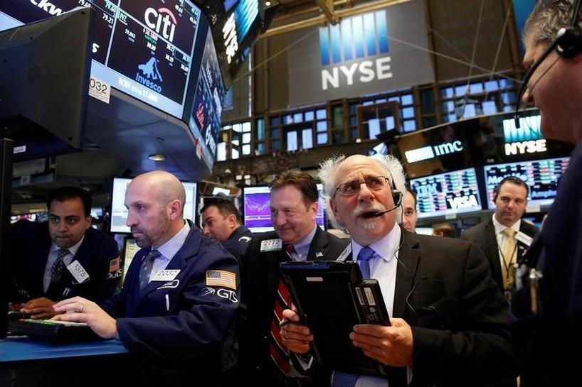 Wall St. ends flat amid election doubts, M&A flurry | Reuters