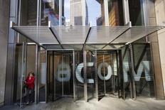 La sede de Viacom en Nueva York, abr 30, 2013. Viacom, propietaria de Comedy Central, Nickelodeon y MTV, está en conversaciones para comprar el canal argentino Televisión Federal a Telefónica por hasta 385 millones de dólares, dijeron personas cercanas a las negociaciones.    REUTERS/Lucas Jackson/File Photo