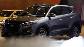 Hyundai apresenta seu novo Tucson durante o Salão do Automóvel de São Paulo, em São Paulo, Brasil 08/11/2016 REUTERS/Paulo Whitaker