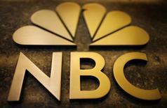 """Le géant américain NBCUniversal, le groupe de médias contrôlé par le câblo-opérateur américain Comcast, a confirmé jeudi envisager d'entrer au capital de la chaîne d'informations européenne Euronews. NBC News, division de NBCUniversal, """"est en discussions avec Euronews au sujet d'un investissement potentiel et d'un partenariat collaboratif entre les deux"""", a dit un porte-parole de NBCUniversal sans autre précision. /Photo d'archives/REUTERS/Mike Segar"""