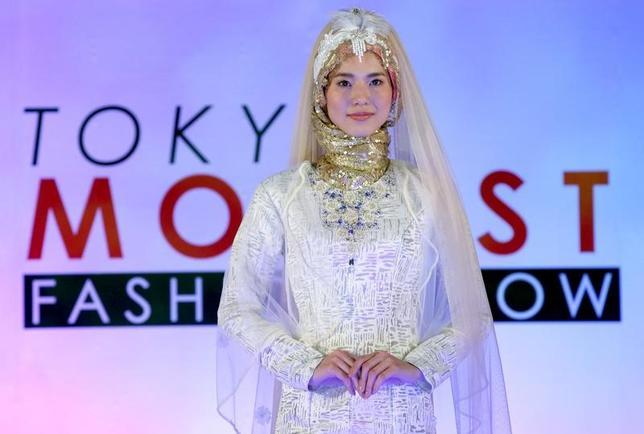 11月22日、東京でイスラム教徒の女性向けファッションショーが開催された。主催者によると、イスラム教徒の女性向けファッションショーは日本では初めて(2016年 ロイター/Toru Hanai)