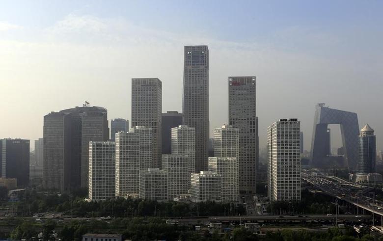 2013年7月11日,北京中央商务区。REUTERS/Jason Lee