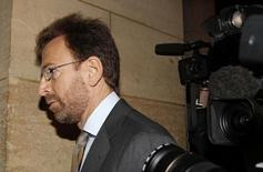 Edgar Bronfman arrives at Paris criminal court June 2, 2010. REUTERS/Jacky Naegelen