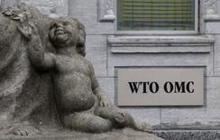 La Organización Mundial del Comercio (OMC) dictaminó el lunes que una exención tributaria del estado de Washington para ayudar a que Boeing desarrolle su nuevo avión 777X constituye un subsidio que no está permitido, en un revés para el fabricante de aviones estadounidense. En la imagen de archivo, la sede de la OMC en Ginebra, el 9 de abril de 2013. REUTERS/Ruben Sprich