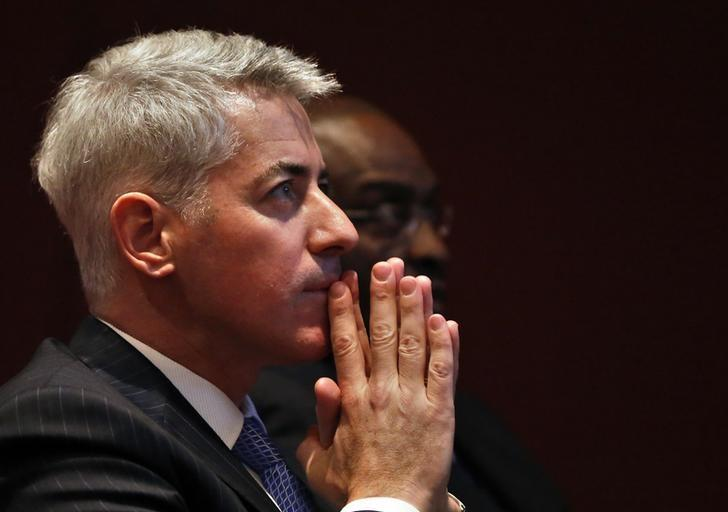 William Ackman, CEO and Portfolio Manager of Pershing Square Management, is pictured during the Harbor Investment Conference in New York, U.S. on February 13, 2013. REUTERS/Shannon Stapleton