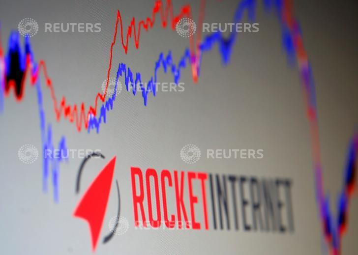 The logo of of Rocket Internet, a German venture capital group is pictured in this September 24, 2014 illustration photo.    REUTERS/Dado Ruvic/File Photo                GLOBAL BUSINESS WEEK AHEAD PACKAGE Ð SEARCH ÒBUSINESS WEEK AHEAD SEPTEMBER 19Ó FOR ALL IMAGES