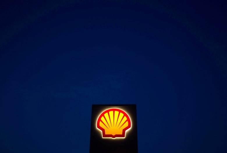 A Shell oil and gas sign is pictured near Nowshera, Pakistan's northwest Khyber-Pakhtunkhwa Province September 8, 2010. REUTERS/Morteza Nikoubazl/File Photo