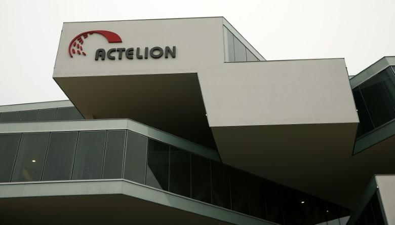 A general view shows Swiss biotech group Actelion Headquarters in Allschwil near Basel February 17, 2015.    REUTERS/Arnd Wiegmann