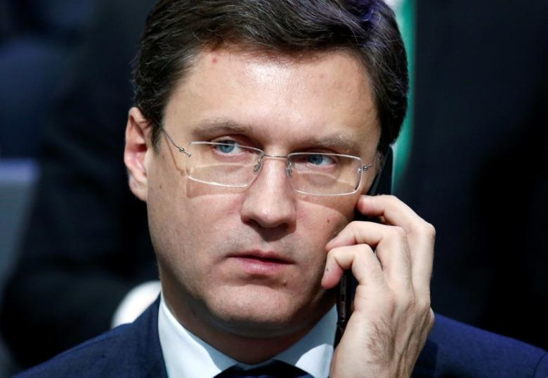 Russian Energy Minister Alexander Novak attends an international conference dedicated to the 175th anniversary of Sberbank in Moscow, Russia November 10, 2016. REUTERS/Sergei Karpukhin
