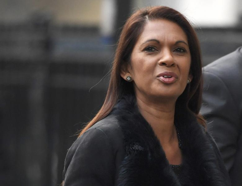 Gina Miller arrives at the Supreme Court for the second day of the challenge against a court ruling that Theresa May's government requires parliamentary approval to start the process of leaving the European Union, in Parliament Square, central London, Britain December 6, 2016. REUTERS/Toby Melville