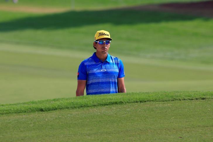 Golf - DP World Tour championship - Dubai, UAE - 20/11/16 - Rafa Cabrera Bello of Spain in action.   REUTERS/Ahmed Jadallah